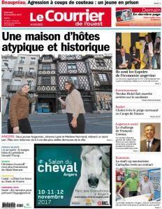 Le Courrier de l'Ouest Angers - 8 Novembre 2017