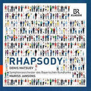 Denis Matsuev, Mariss Jansons, Bavarian RSO - Rhapsody: Chabrier, Gershwin, Enescu, Ravel, Liszt (2016)
