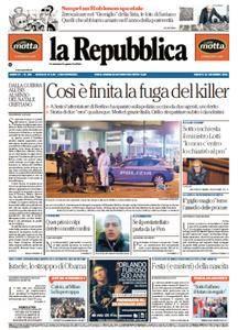 La Repubblica - 24 Dicembre 2016