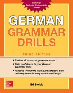 German Grammar Drills, 3rd Edition