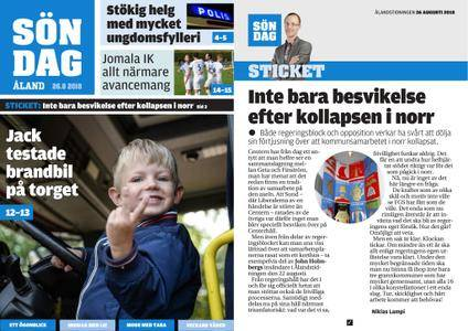 Ålandstidningen – 26 augusti 2018