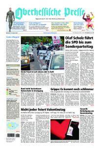 Oberhessische Presse Marburg/Ostkreis - 14. Februar 2018