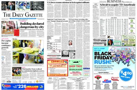 The Daily Gazette – November 26, 2019