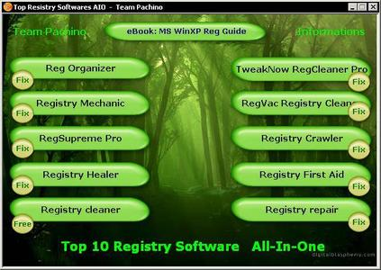 Top 10 Registry Software All-In-One