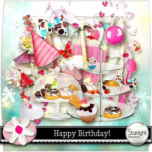 Scrap Kit: Happy Birthday!