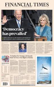 Financial Times Europe - January 21, 2021