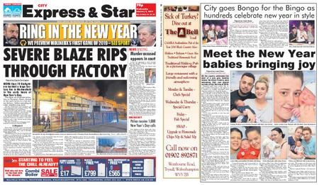 Express and Star City Edition – January 02, 2019