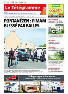 Le Télégramme Brest Abers Iroise – 28 juin 2019