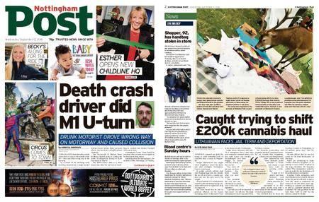 Nottingham Post – September 12, 2018