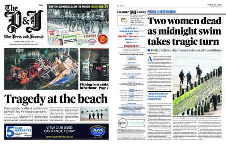 The Press and Journal Moray – April 20, 2019