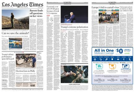 Los Angeles Times – October 14, 2020