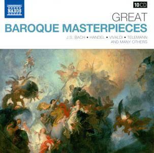 VA - Naxos 25th Anniversary: Great Baroque Masterpieces (2012) (10 CD Box Set)