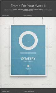 GraphicRiver - Frame For Your Work II Poster Mock-Up