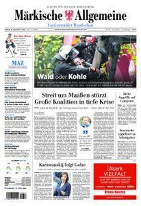 Märkische Allgemeine Luckenwalder Rundschau - 14. September 2018