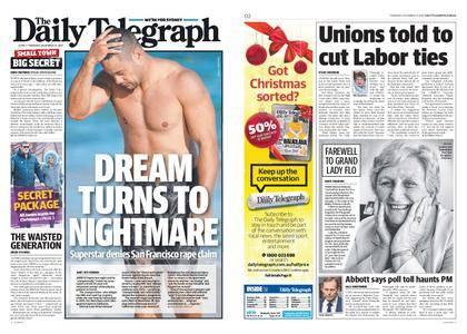 The Daily Telegraph (Sydney) – December 21, 2017