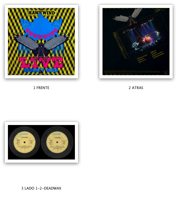 Hawkwind - Live Seventy Nine (1980) Bronze/202 553-320 - DE 1st Pressing - LP/FLAC In 24bit/96kHz