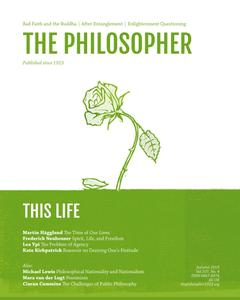 The Philosopher - Autumn 2019
