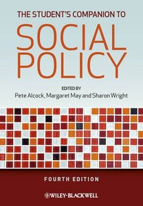 The Student's Companion to Social Policy, 4 edition
