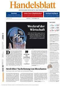 Handelsblatt - 17. September 2018
