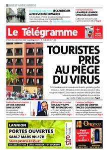 Le Télégramme Brest Abers Iroise – 26 février 2020