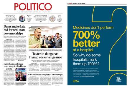 Politico – October 31, 2018