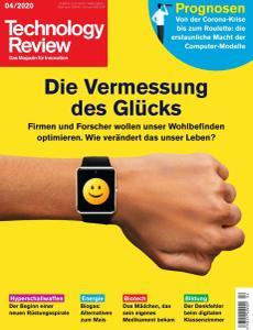 Technology Review - April 2020
