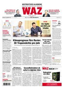 WAZ Westdeutsche Allgemeine Zeitung Oberhausen-Sterkrade - 18. September 2018