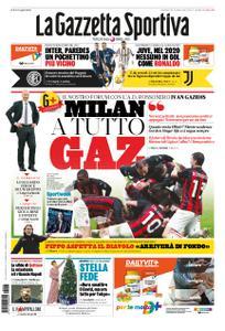 La Gazzetta dello Sport Roma – 27 dicembre 2020