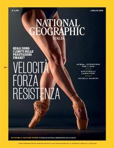 National Geographic Italia - luglio 2018