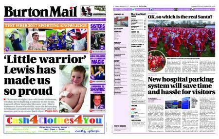 Burton Mail – December 26, 2017