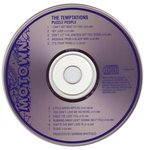 The Temptations - Puzzle People (1969) [1992, Reissue]