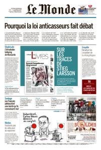 Le Monde du Vendredi 1er Février 2019