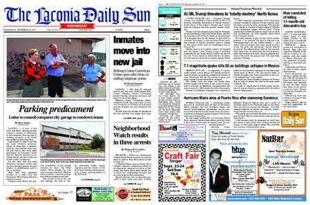 The Laconia Daily Sun – September 20, 2017