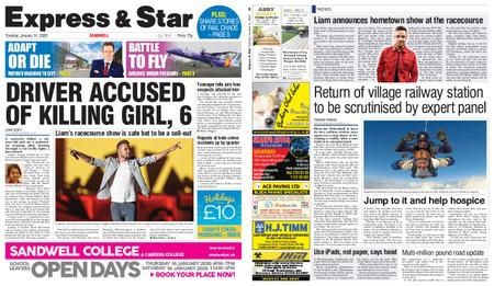 Express and Star Sandwell Edition – January 14, 2020