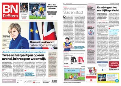 BN DeStem - Bergen op Zoom – 26 november 2018