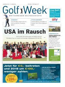 Golf Week - 6 Oktober 2017