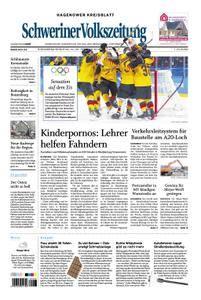 Schweriner Volkszeitung Hagenower Kreisblatt - 24. Februar 2018