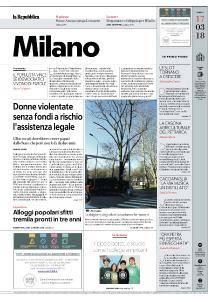 la Repubblica Milano - 17 Marzo 2018