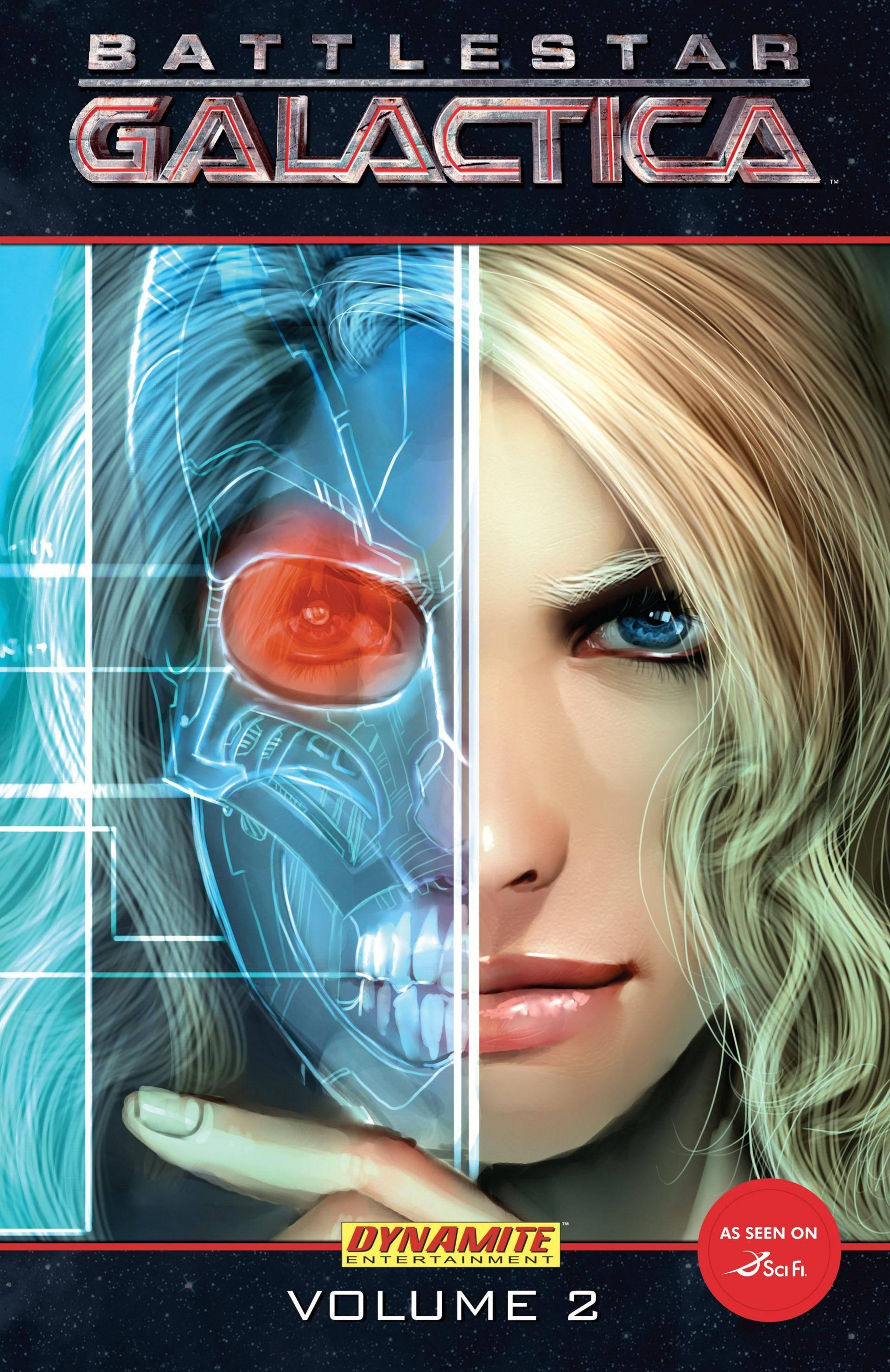 For DOM -  Battlestar Galactica Vol  2 TPB 2007 2 covers Digital Cypher-Empire cbr