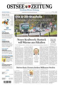 Ostsee Zeitung Wolgast - 02. November 2017