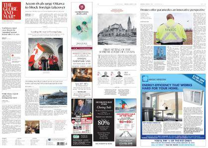 The Globe and Mail – January 17, 2018