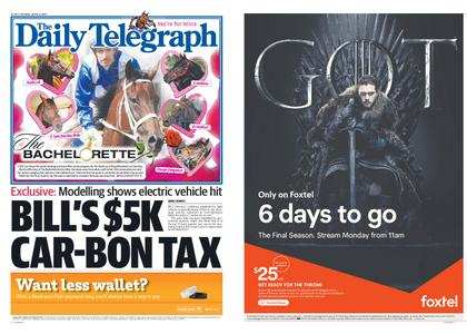 The Daily Telegraph (Sydney) – April 09, 2019