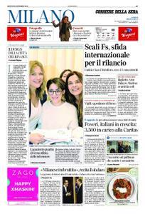Corriere della Sera Milano – 20 dicembre 2018