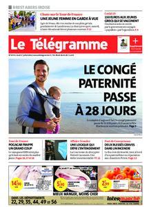 Le Télégramme Brest Abers Iroise – 01 juillet 2021