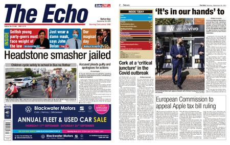 Evening Echo – September 26, 2020