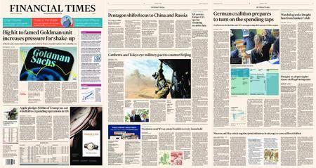 Financial Times Europe – 18 January 2018