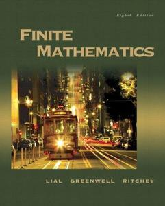 Instructor's Resource Guide and Solutions Manual to Finite Mathematics (Repost)