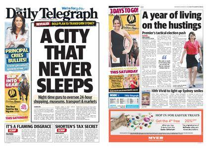 The Daily Telegraph (Sydney) – March 21, 2018