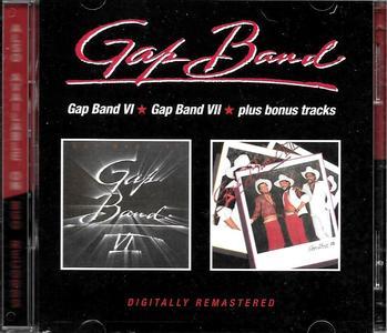 The Gap Band - Gap Band VI (1984) & Gap Band VII (1985) [2CD] (2019) [Remastered with Bonus Tracks]
