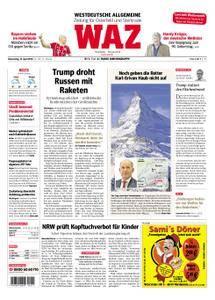WAZ Westdeutsche Allgemeine Zeitung Oberhausen-Sterkrade - 12. April 2018